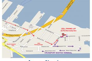 Cruiseport Boston cell phone log